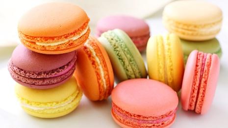 Macaron chiếm trọn cảm tình người ăn.
