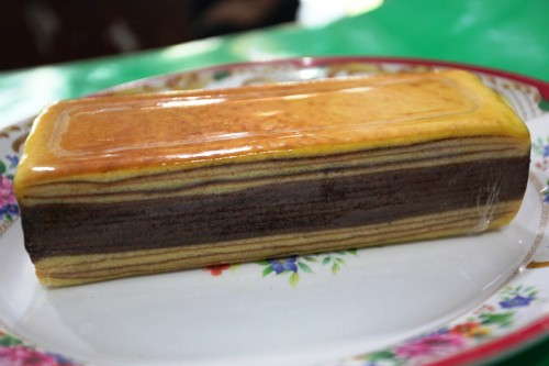 kek lapis coklat chese