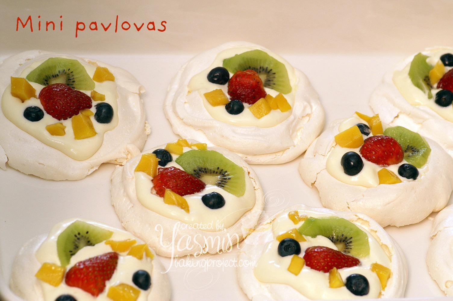 Mini Pavlovas — Rezepte Suchen