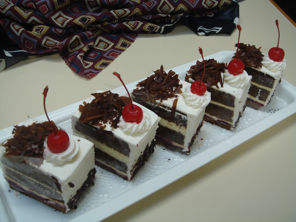 RM20 Black Forest Cake demo class   BAKING PROJECT