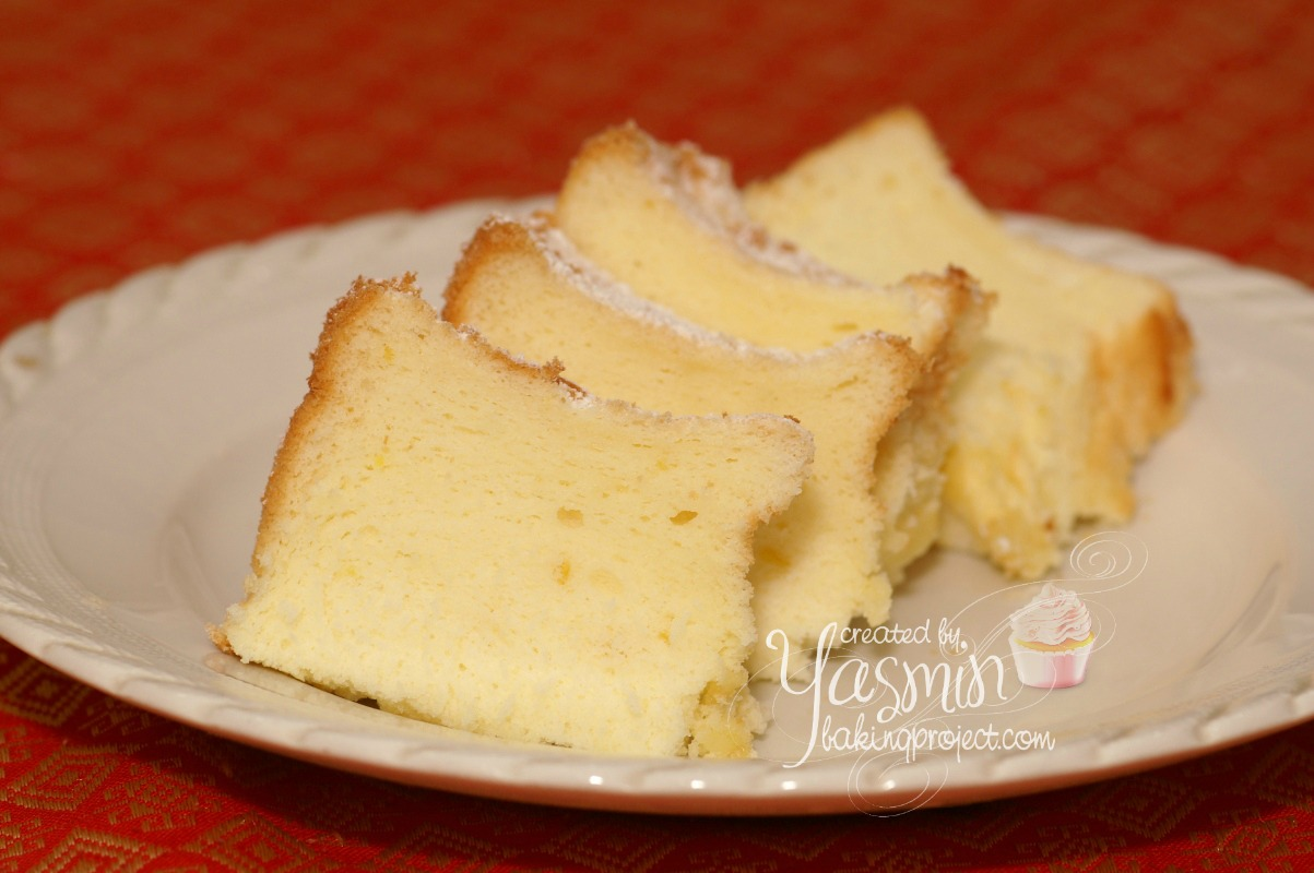 Lemon chiffon cake « BAKING PROJECT