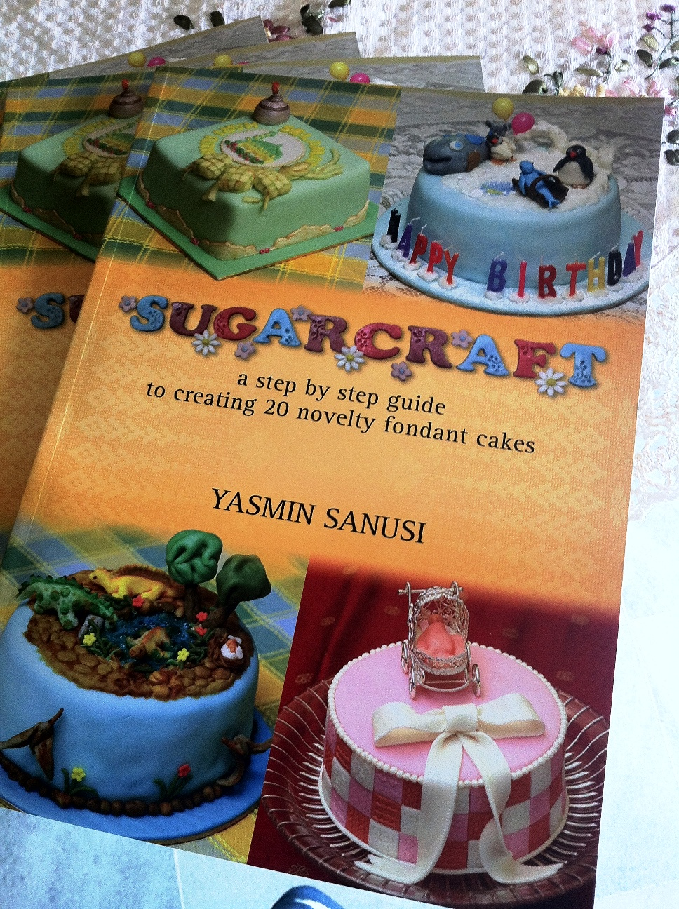"3rd book,""Sugarcraft"" giveaway"