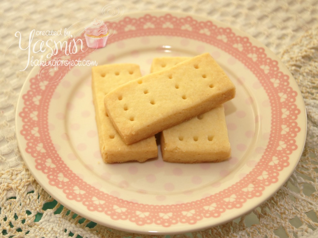 Scottish Shortbread Cookies Baking Project