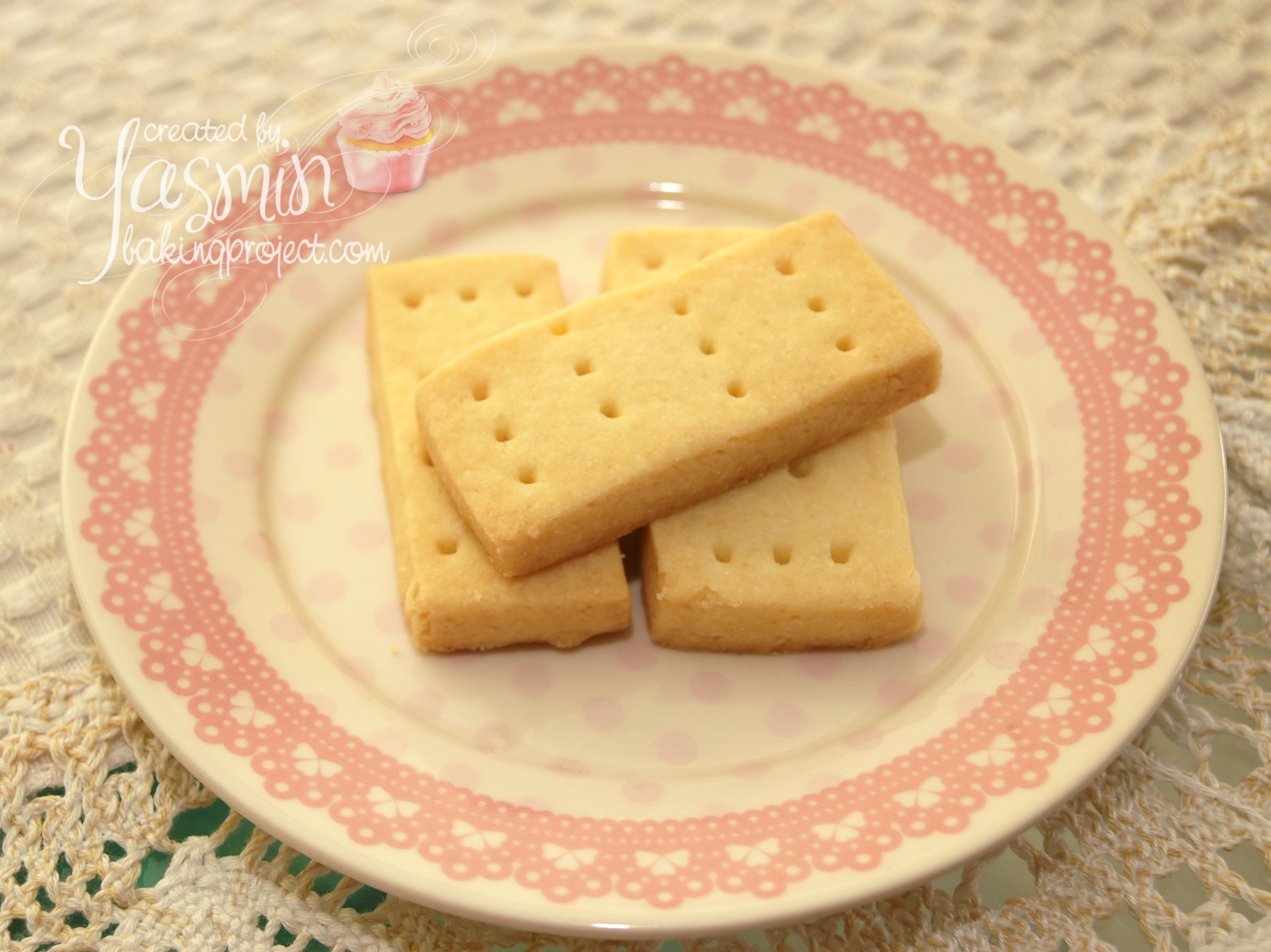 Scottish shortbread cookies « BAKING PROJECT