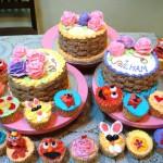 Buttercream cake & cupcake deco class.